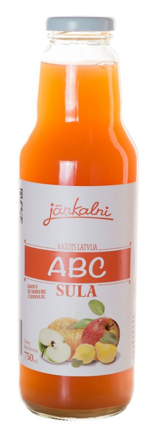Ābolu-bumbieru-cidoniju (ABC) sula 750ml