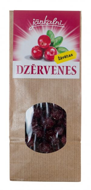 Dried cranberries 100g