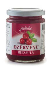 Cranberry juice-puree