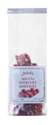 Cranberry soft candy 100g