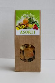 Dried assorted fruits 100g